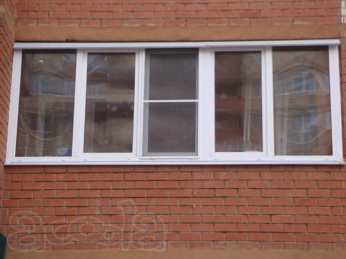 Лоджии, балконы - остекление окнами пвх, пластиковыми окнами.